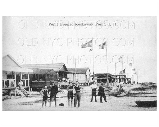 Breezy Point Beach Rockaway Point 1915 Old Vintage Photos and Images