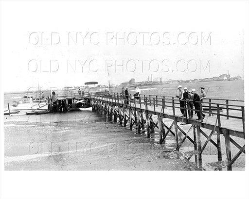 Breezy Point Rockaway LI Queens Pier 1910 Old Vintage Photos and Images