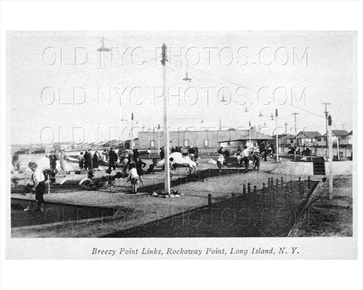 Breezy Point Rockaway Point Mini Golf LI 1935 Old Vintage Photos and Images