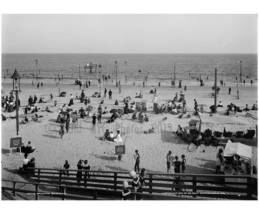 Brighton Beach Boardwalk Old Vintage Photos and Images