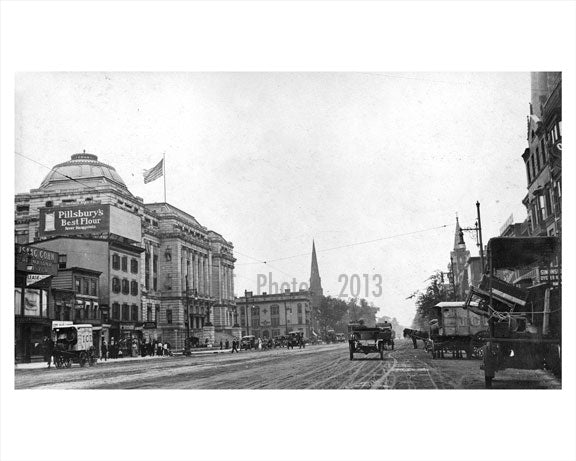 Broad Street Newark NJ 1914 A Old Vintage Photos and Images