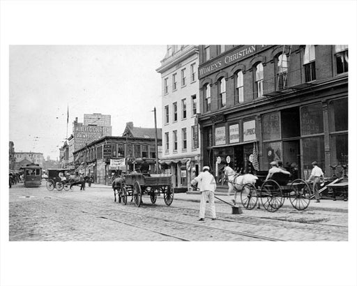Broad Street Newark NJ 1915 C Old Vintage Photos and Images