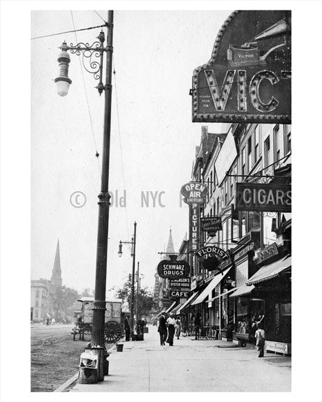 Broad Street Newark NJ 1915 B Old Vintage Photos and Images