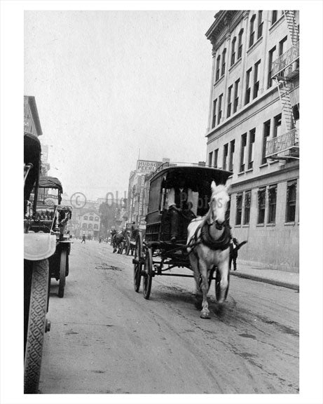 Broad Street Newark NJ 1915 A Old Vintage Photos and Images