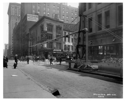 Broadway & 18th Street - Flatiron District  NY 1915 B Old Vintage Photos and Images
