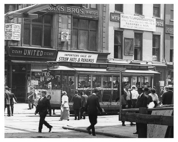 Broadway & 18th Street - Flatiron District  NY 1915 C Old Vintage Photos and Images