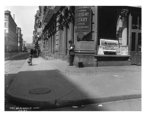 Broadway & Grand Street 1912 - Soho  Manhattan NYC A Old Vintage Photos and Images