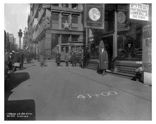 Broadway & Grand Street 1912 - Soho  Manhattan NYC B Old Vintage Photos and Images