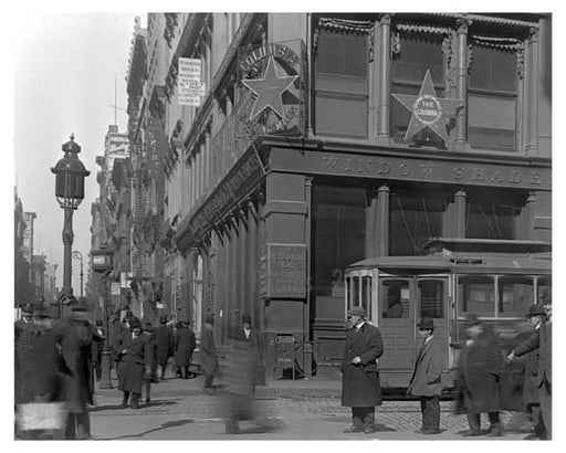 Broadway & Grand Street 1912 - Soho  Manhattan NYC C Old Vintage Photos and Images