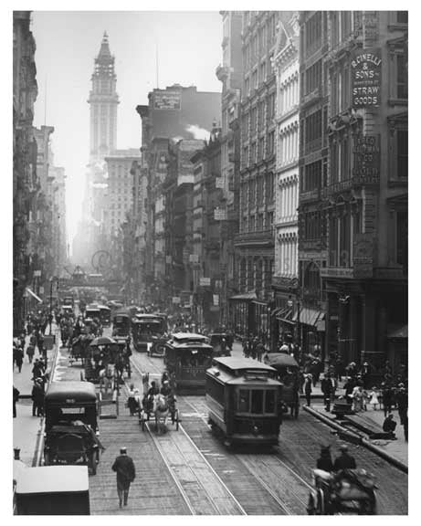 Broadway & Prince Street  1912 - Soho Downtown Manhattan NYC F Old Vintage Photos and Images