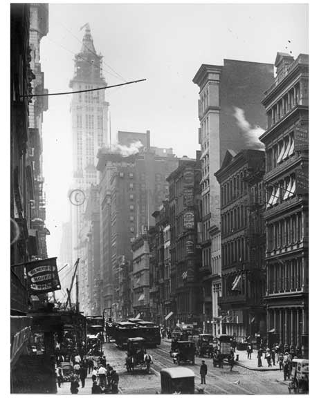 Broadway & Prince Street  1912 - Soho Downtown Manhattan NYC I Old Vintage Photos and Images