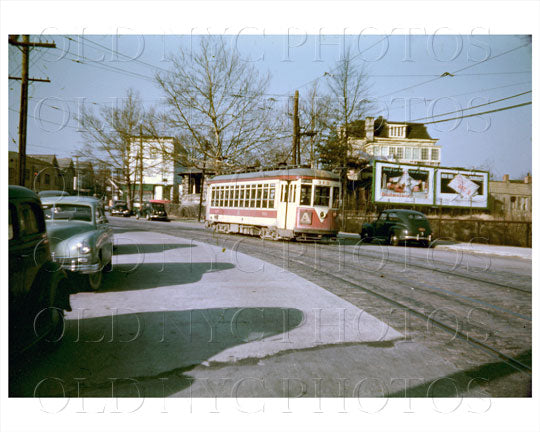 Westchester TARS with signage 1950 Old Vintage Photos and Images