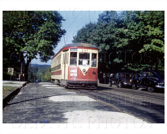 Yonkers Trolley Old Vintage Photos and Images