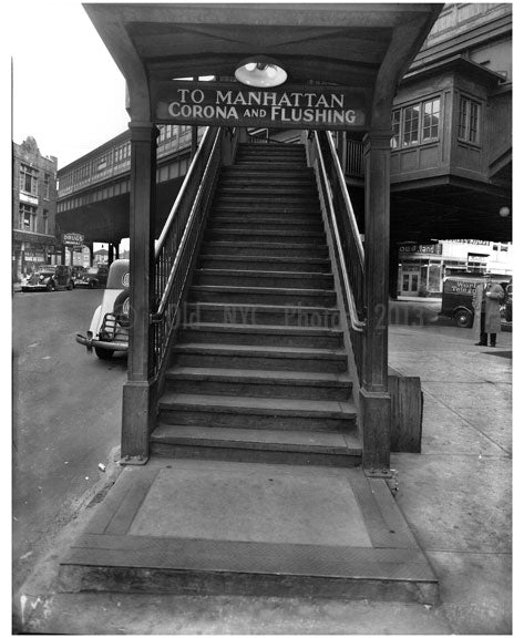 Broadway Train Entrance Old Vintage Photos and Images