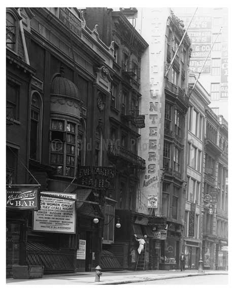 Broadway & West 28th Street -  Midtown Manhattan  NY 1914 C Old Vintage Photos and Images