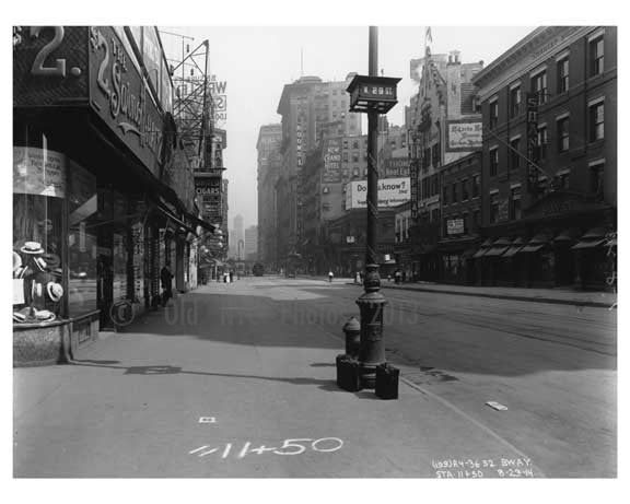 Broadway & West 29th Street -  Midtown Manhattan  NY 1914 D Old Vintage Photos and Images