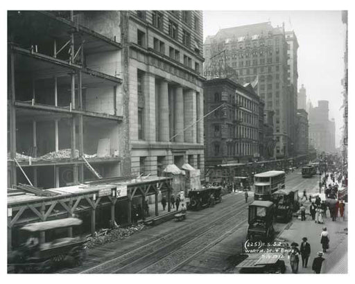 Broadway & Worth Street  1912 - Soho Downtown Manhattan NYC J Old Vintage Photos and Images