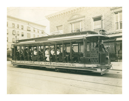 Bronx Trolley Car Old Vintage Photos and Images