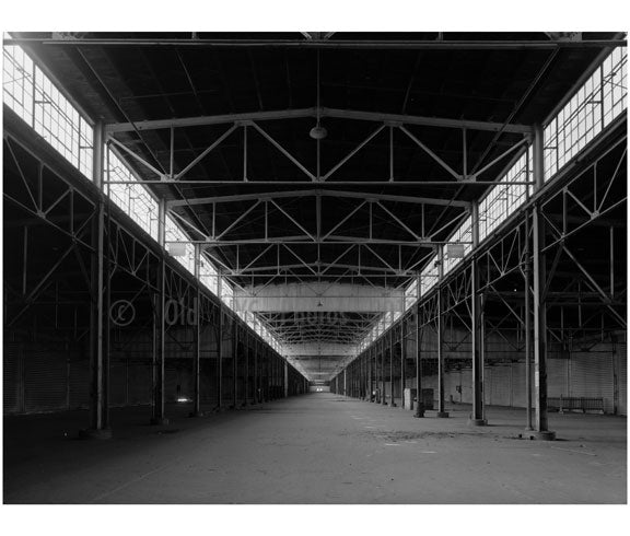 Brooklyn Army Supply Base, Pier 4 - Second floor pier shed Old Vintage Photos and Images