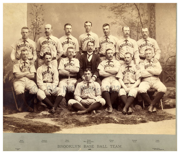 Brooklyn baseball  1889