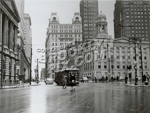 Brooklyn Borough Hall 1951 Old Vintage Photos and Images