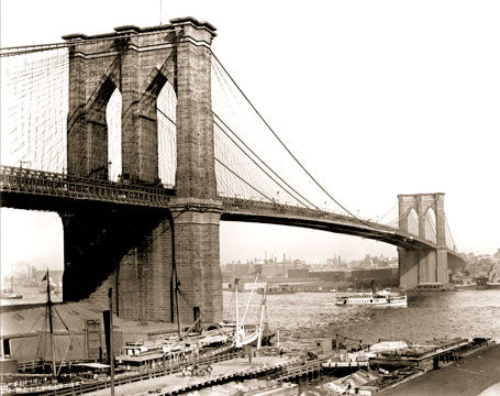 Brooklyn Bridge 1910 Old Vintage Photos and Images