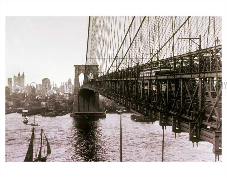 Brooklyn Bridge Old Vintage Photos and Images