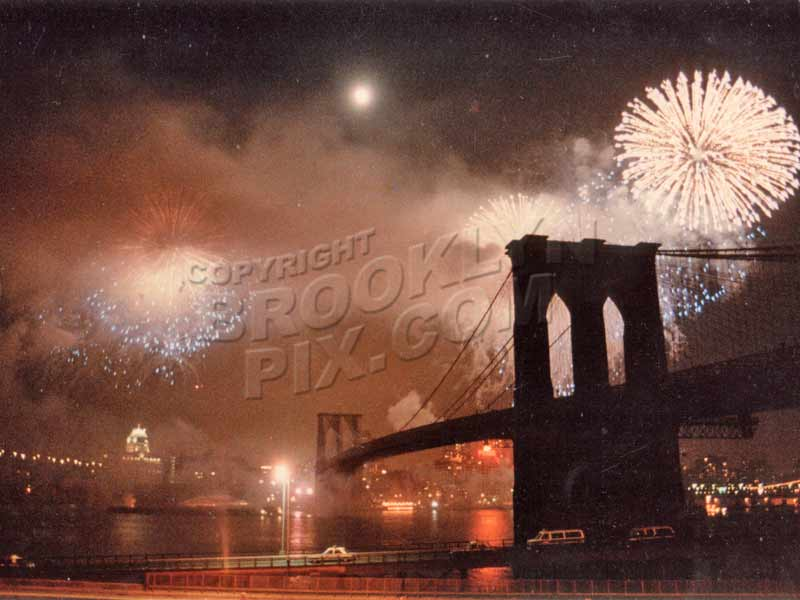 Brooklyn Bridge Centennial Celebration, May 20, 1983 Old Vintage Photos and Images