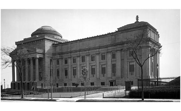 Brooklyn Institute of Arts & Sciences - Brooklyn Museum Old Vintage Photos and Images