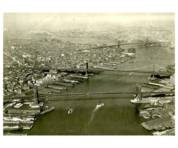 Brooklyn, Manhattan & Williamsburg Bridges Old Vintage Photos and Images
