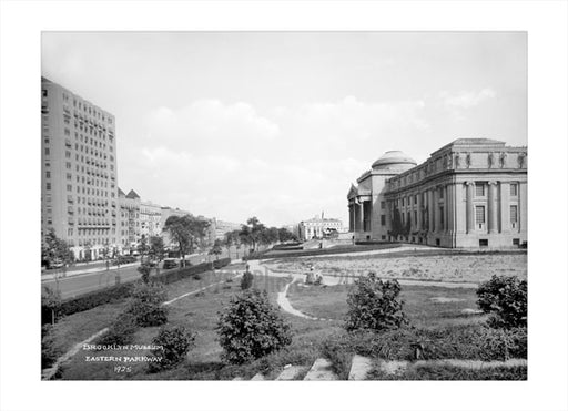 Brooklyn Museum & Eastern Parkway 1925 Old Vintage Photos and Images