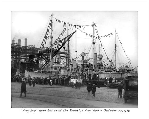 Brooklyn Navy Yard 1930 Old Vintage Photos and Images