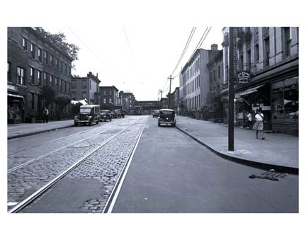Brooklyn St Scene Bedford-Stuyvesant - Brooklyn NY Old Vintage Photos and Images