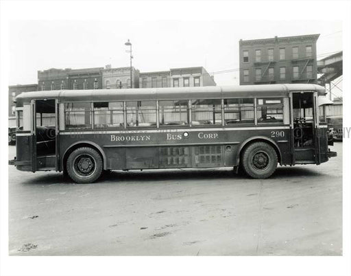Brookyln Bus Corp. Old Vintage Photos and Images