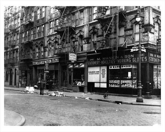 Broome & Ludlow Streets 1944 Old Vintage Photos and Images