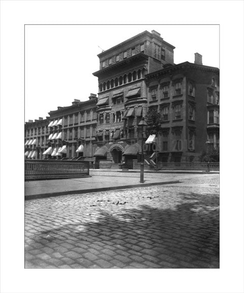 Brownstone in Fort Greene Brooklyn  Old Vintage Photos and Images