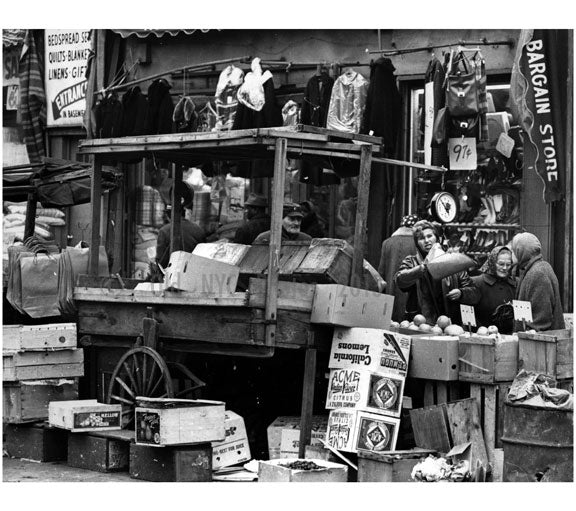 Brownsville market, Belmont Avenue Old Vintage Photos and Images