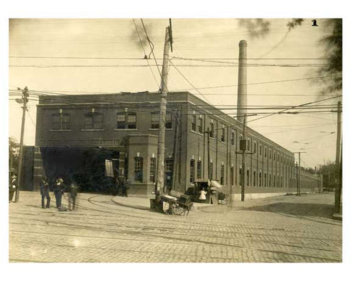 BRT 1 Maspeth Depot - Grand & Juniper Queens 1910 Old Vintage Photos and Images