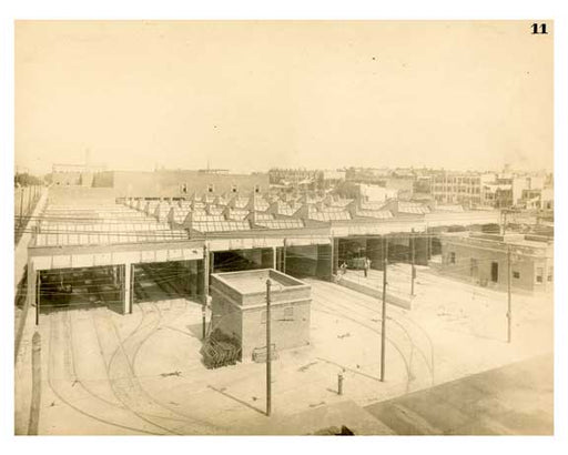 BRT 11 10TH Avenue Depot West Side 10th Avenue between 19th & 20th streets Brooklyn NY Old Vintage Photos and Images