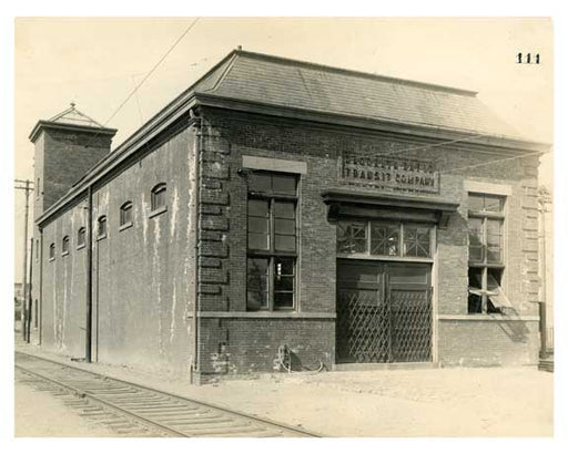 BRT 111 Coney Island sub station #6 Sheepshead Bay Road near West 6th Street   Brooklyn NY Old Vintage Photos and Images