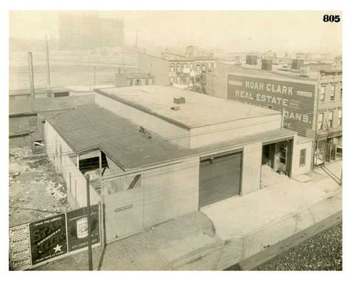 BRT 805 Manhattan Avenue Ash Station West Side of Manhattan Avenue 181.5 feet north of Driggs Ave Old Vintage Photos and Images
