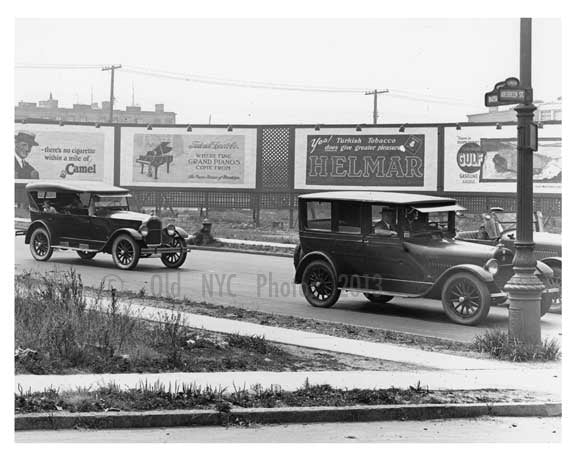 Bushwick & Alberdgen Ave  - Williamsburg - Brooklyn , NY  1923 H Old Vintage Photos and Images