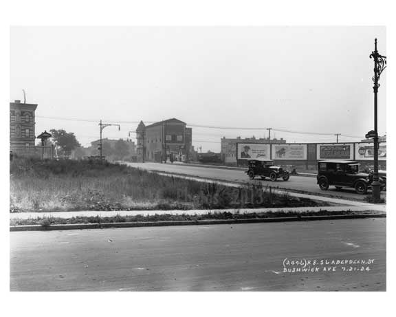 Bushwick & Alberdgen Ave  - Williamsburg - Brooklyn , NY  1923 G Old Vintage Photos and Images