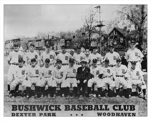 Bushwick Baseball Club Old Vintage Photos and Images