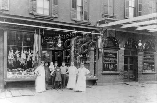 Bushwick Pork Packing Company, 27-29 Bushwick Avenue, 1915 Old Vintage Photos and Images
