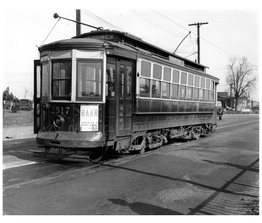 Bushwick Trolley Old Vintage Photos and Images