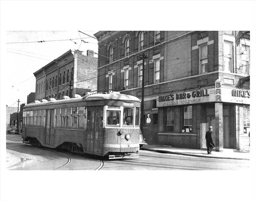 Bushwick Trolley Mike's Bar 1940 Old Vintage Photos and Images