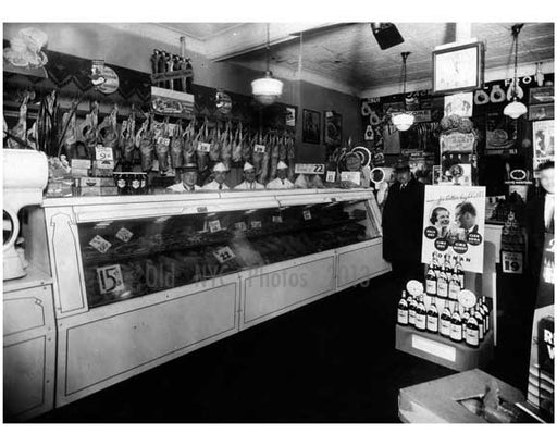 Butcher Shop interior 1930s Old Vintage Photos and Images