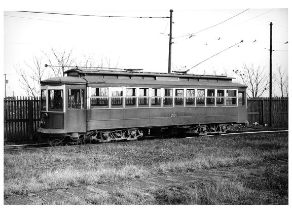 Canarsie Shore Term Loop Trolley Old Vintage Photos and Images