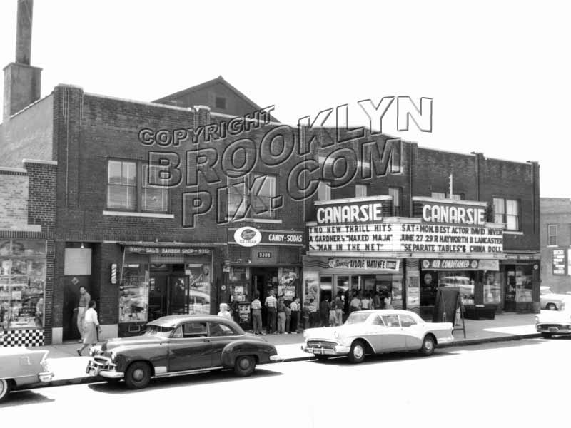 Canarsie Theater on Avenue L, 1959 Old Vintage Photos and Images